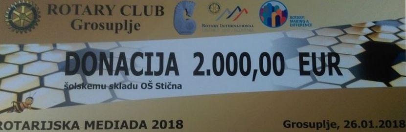 DONACIJA ROTARY CLUBA